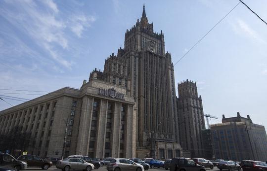 Tòa nhà Bộ Ngoại giao Nga. Ảnh:Itar-Tass