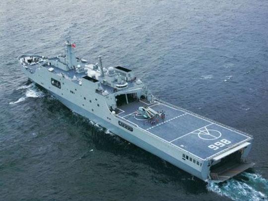 Tàu đổ bộ Tĩnh Cương Sơn của Trung Quốc - Ảnh minh họa từ internet