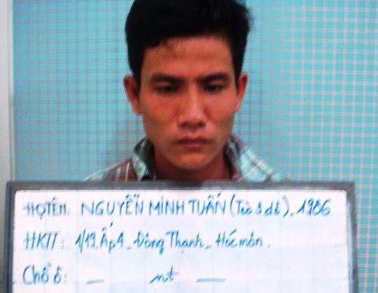 Nguyễn Minh Tuấn, tên cầm đầu băng cướp