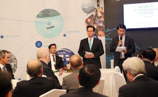 Thủ tướng Nguyễn Tấn Dũng trực tiếp đối thoại, cam kết bảo bảm môi trường đầu tư ổn định, an toàn, hấp dẫn với các nhà đầu tư