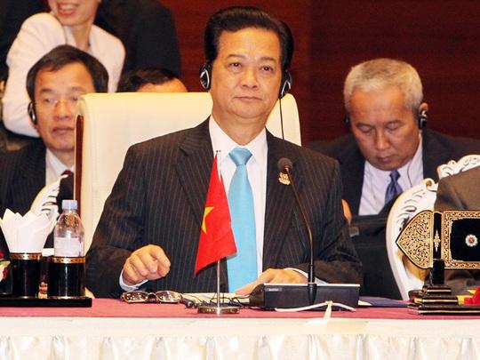 Thủ tướng Nguyễn Tấn Dũng: Việt Nam kiên quyết bảo vệ chủ quyền quốc gia - Ảnh: Đức Tám