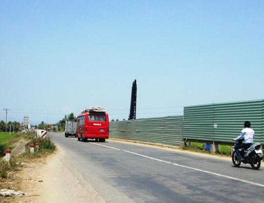 Đoạn đường vắng ở xã Ninh Lộc, thị xã Ninh Hòa