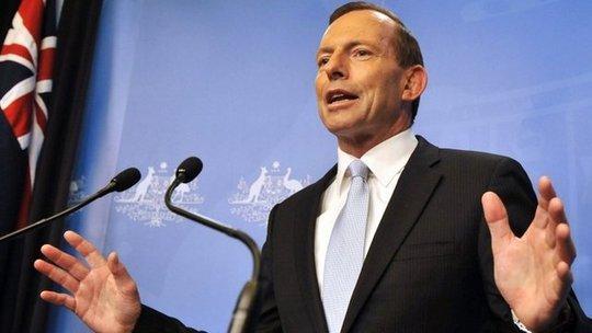Thủ tướng Tony Abbott. Ảnh: BBC