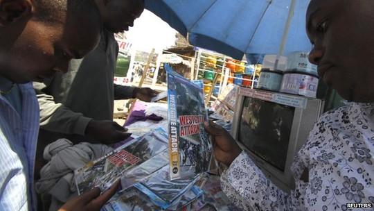 Thị trường đĩa lậu phát triển mạnh ở Kenya