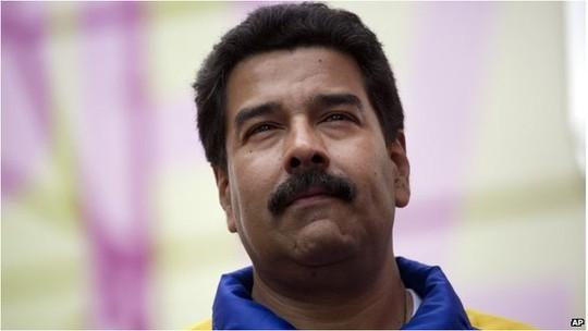 Tổng thống Nicolas Maduro. Ảnh: AP
