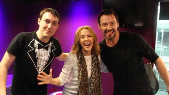 Bộ ba tham gia chương trình của BBC Radio 1