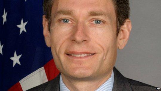 Nhà ngoại giao Tom Malinowski bị trục xuất vì gặp gỡ nhóm đối lập. Ảnh: AP