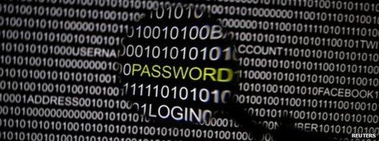 Một nhóm tin tặc Nga đã đánh cắp 1,6 tỉ tài khoản internet. Ảnh: Reuters