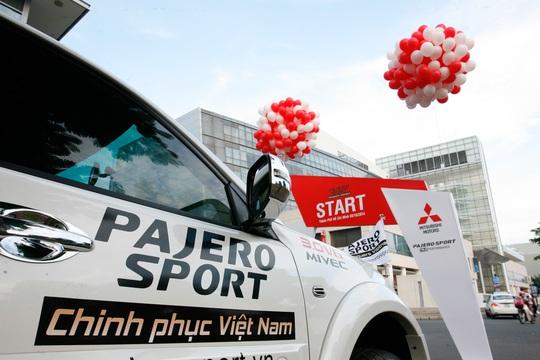 Hành trình Pajero Sport chinh phục Việt Nam chính thức khởi hành