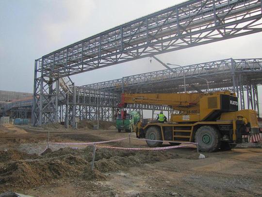 Nhiều lao động người Trung Quốc làm việc tại dự án Formosa chưa có giấy phép lao động.