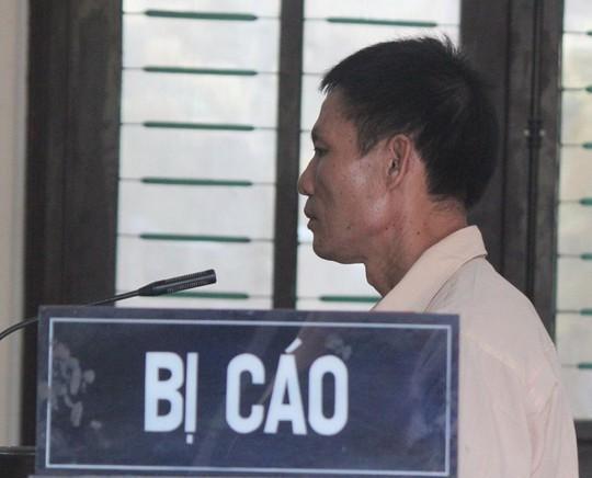 Bị cáo Hương tại phiên tòa.