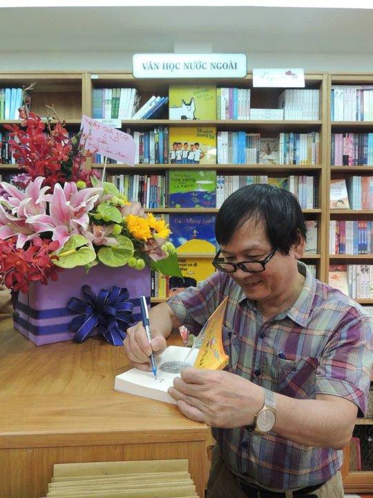 Nhà văn Nguyễn Nhật Ánh nói ngày bé chưa bao giờ nghĩ sẽ trở thành nhà văn...