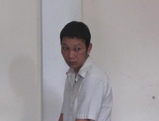 Bị cáo Hoàng Khắc Thắng tại phiên tòa.