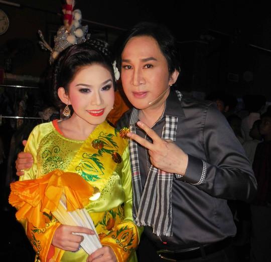 NSƯT Kim Tử Long và Bình Tinh trong đêm live show