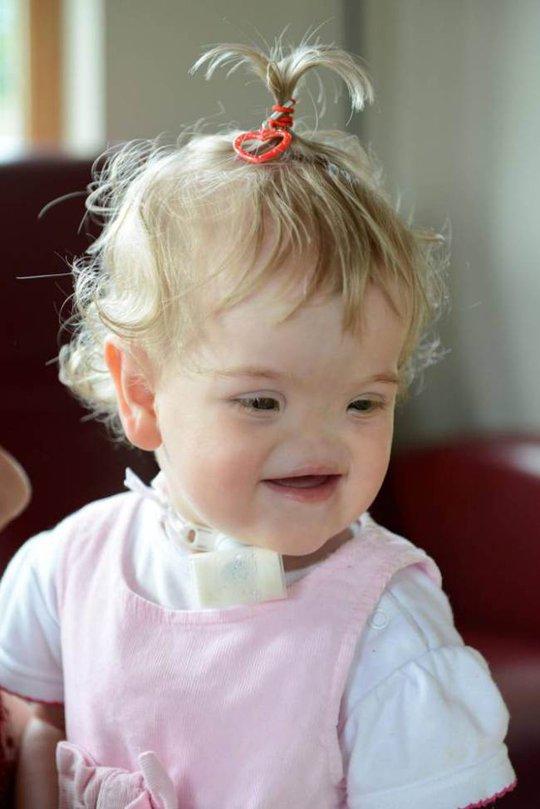 Căn bệnh quái ác không ngăn được nụ cười của Tessa.