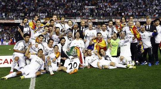 Real Madrid có được danh hiệu đầu tiên dưới triều đại HLV Carlo Ancelotti
