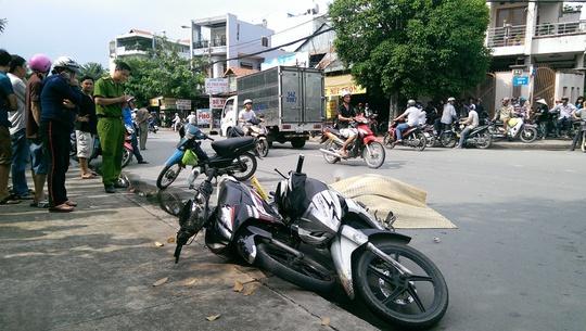 Do phóng nhanh, một thanh niên đã tự gây tai nạn trên đường