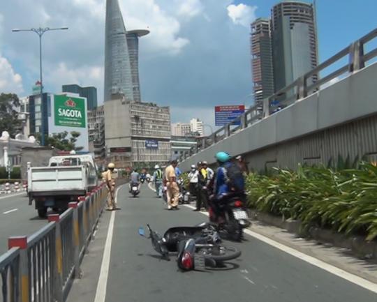 Vụ tai nạn khiến 2 người phụ nữ bị thương nặng