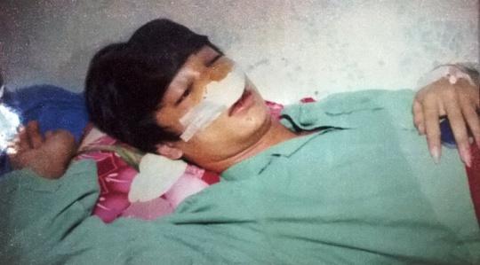 Đình khi được điều trị tại Bệnh viện Đa Khoa Kon Tum