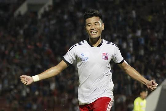 Hải Anh ghi bàn cho Đồng Nai