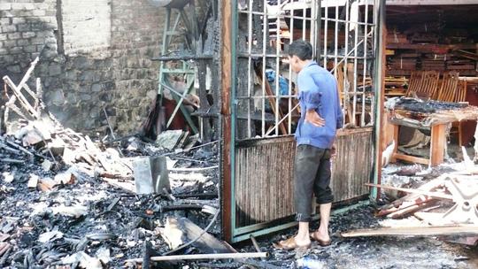 Vụ cháy gây thiệt hại hàng tỉ đồng đối với Công ty Việt Gia