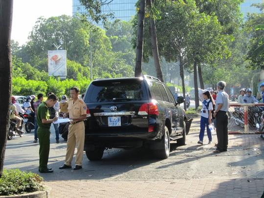 Vụ tai nạn khiến tài xế bị thương nặng