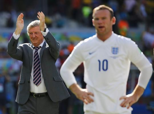 Thất bại ở World Cup 2014 khiến thầy trò HLV Hodgson giảm 12 bậc trên bảng xếp hạng của FIFA