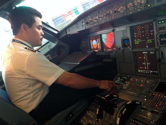 Buồng lái của phi công