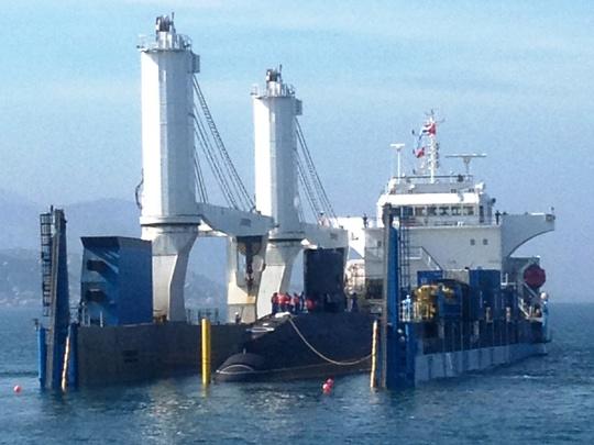 hạ thủy tàu Kilo
