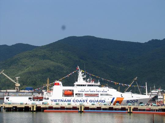 Tàu có trang bị hiện đại và có bãi đáp trực thăng