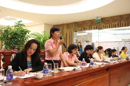 """Hội thảo """"Nâng cao năng lực cạnh tranh của doanh nghiệp thông qua trao quyền cho phụ nữ tại nơi làm việc"""""""
