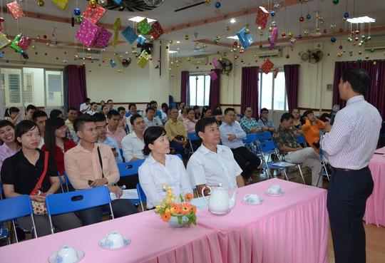 Lớp tập huấn tuyên truyền phòng chống HIV/AIDS