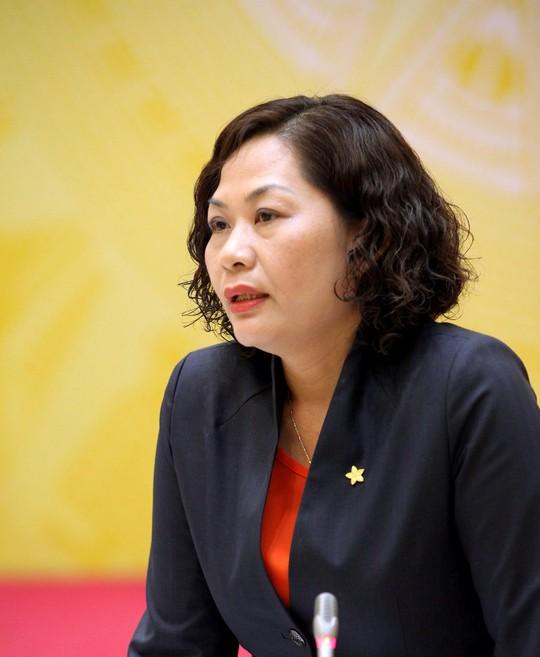 Phó Thống đốc Ngân hàng nhà nước Nguyễn Thị Hồng nói về vụ bắt ông Hà Văn Thắm