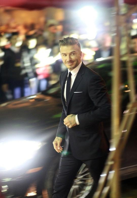 David Beckham bước ra với hình ảnh lịch lãm