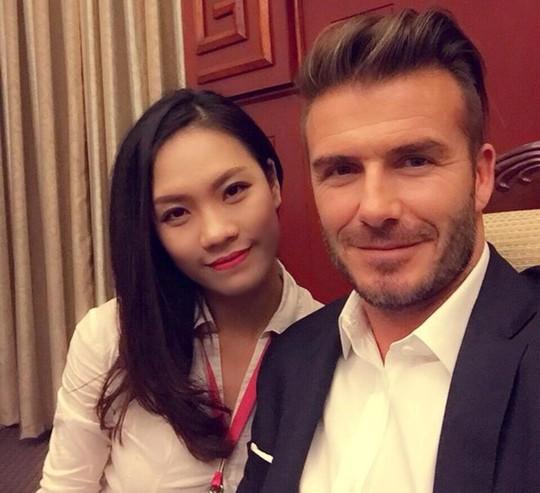 Tóc Tiên bị dân mạng soi kỹ vì David Beckham