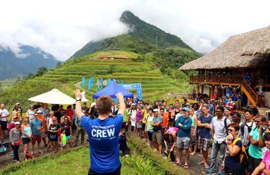 Buổi lễ chào mừng 500 vận động viên đến từ 40 quốc gia tham gia cuộc đua