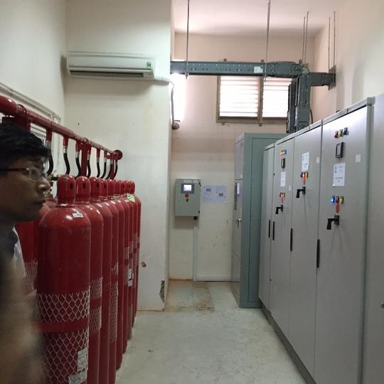 Hệ thống cứu hoả bằng CO2 cho các thiết bị điện