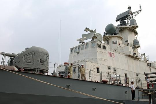 Chiếc tàu tên lửa Molniya do nhà máy Ba Son đóng