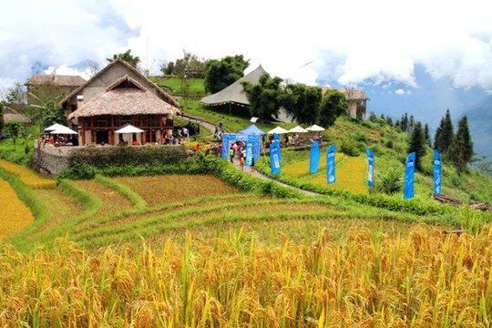 Cuộc đua được tổ chức ở Topas Ecolodge - một khu nghỉ dưỡng thân thiện với môi trường ở Sa Pa