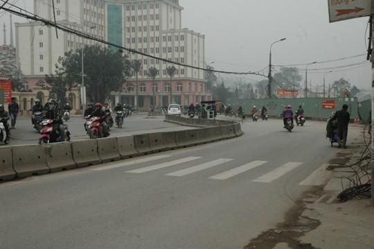 Đoạn đường Trường Chinh được nắn cong