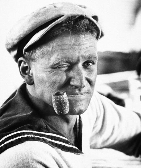Robin trong phim Popeye