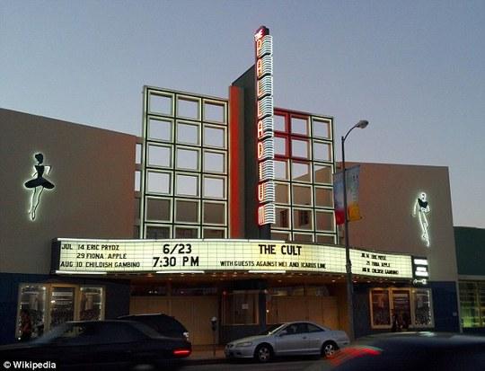Nhà hát Palladium, nơi xảy ra vụ việc giữa bà Eckert và vệ sĩ của Johnny Depp