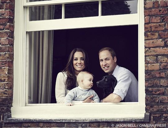 Gia đình hạnh phúc của Hoàng tử William