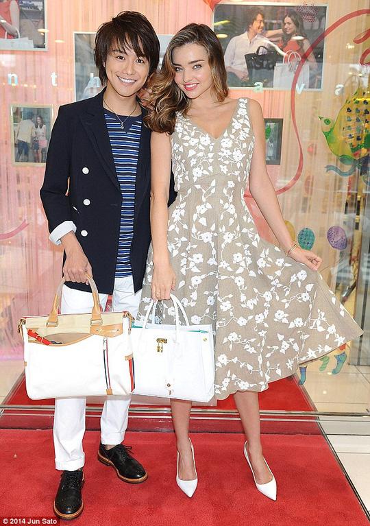 Miranda Kerr và Takahiro