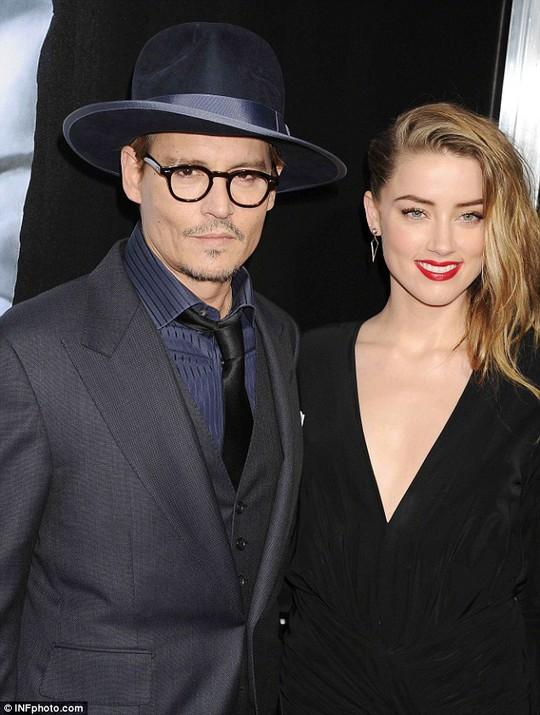 Johnny Depp và Amber Heard