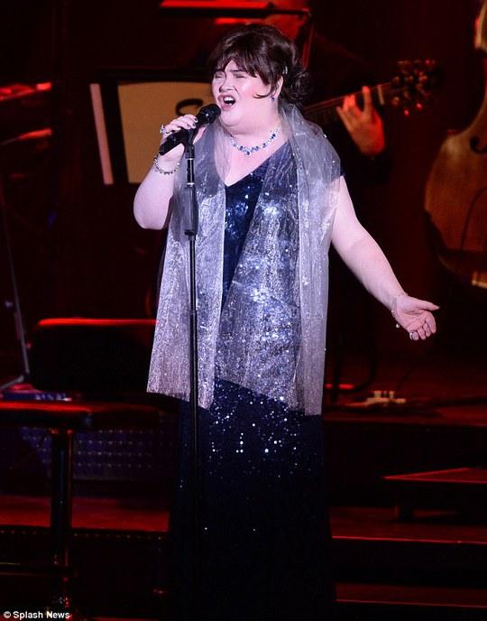 Susan Boyle biến giấc mơ thành hiện thực