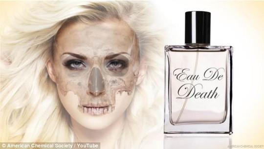 Nước hoa Eau de Death có mùi xác chết thối