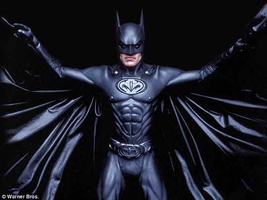 Ben Affleck tăng cường cơ bắp vào vai Batman
