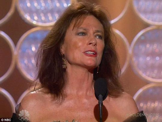 Nữ diễn viên văng tục khi nhận giải Quả Cầu Vàng