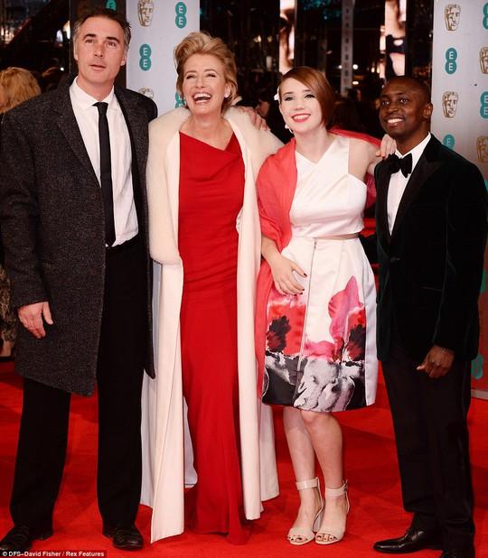 Emma Thompson và các thành viên trong gia đình mình
